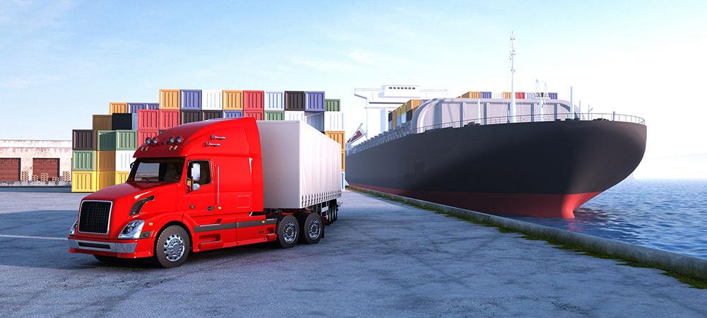 Этапы контейнерных перевозок