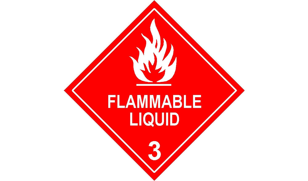 МаркировкаFlammable liquids