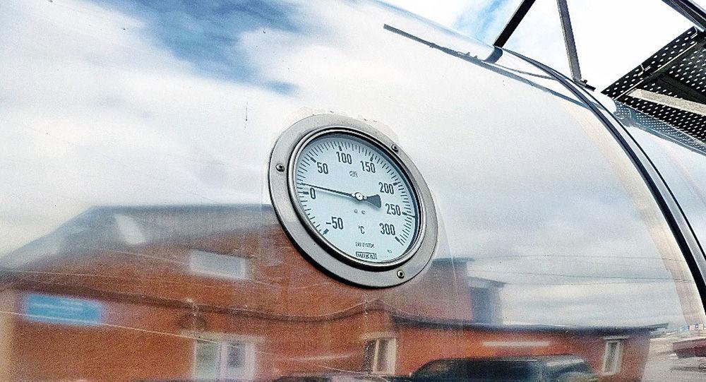 Контроль давления в цистерне
