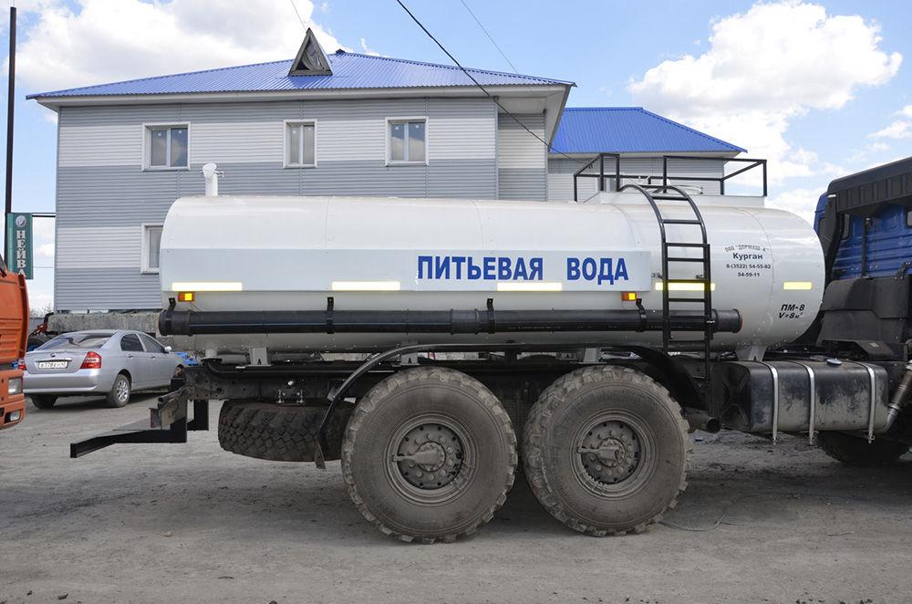 Перевозка питьевой воды
