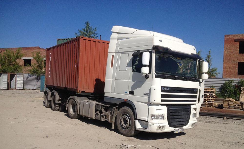 Перевозка автотранспортом контейнеров