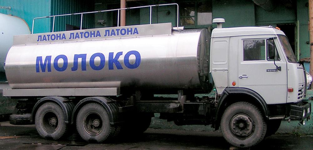 Перевозка молочных продуктов