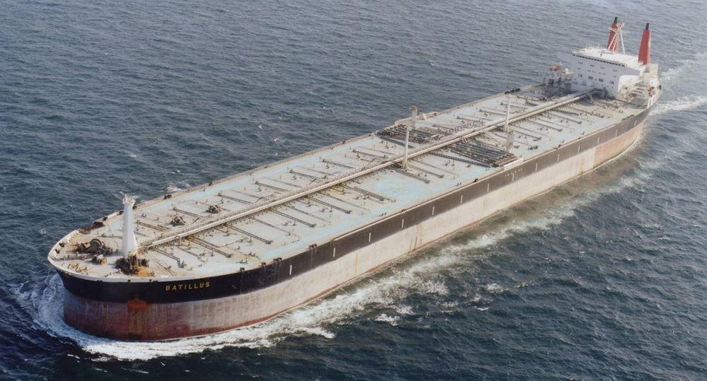 Перевозка с помощью танкера