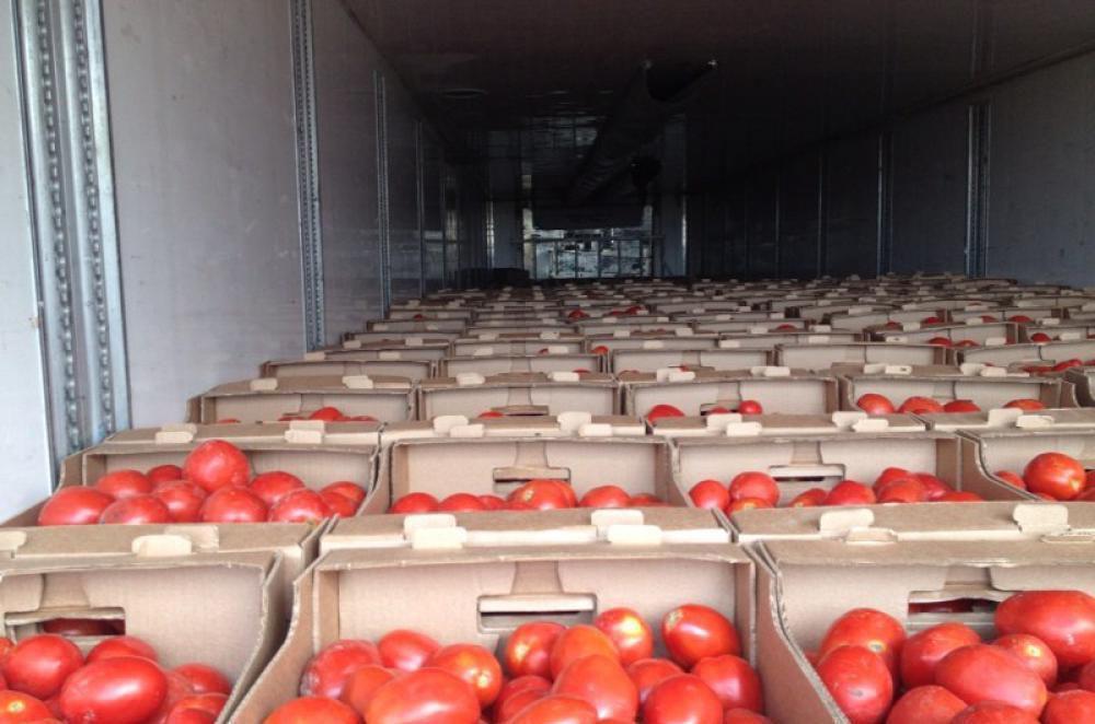 Перевозка овощей
