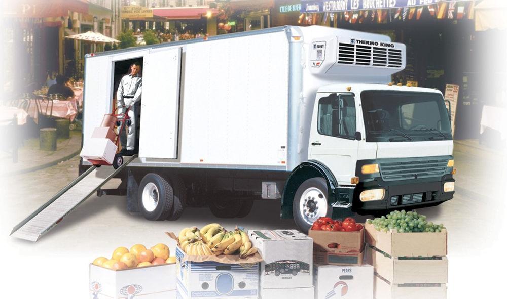 Перевозка овощей, фруктов