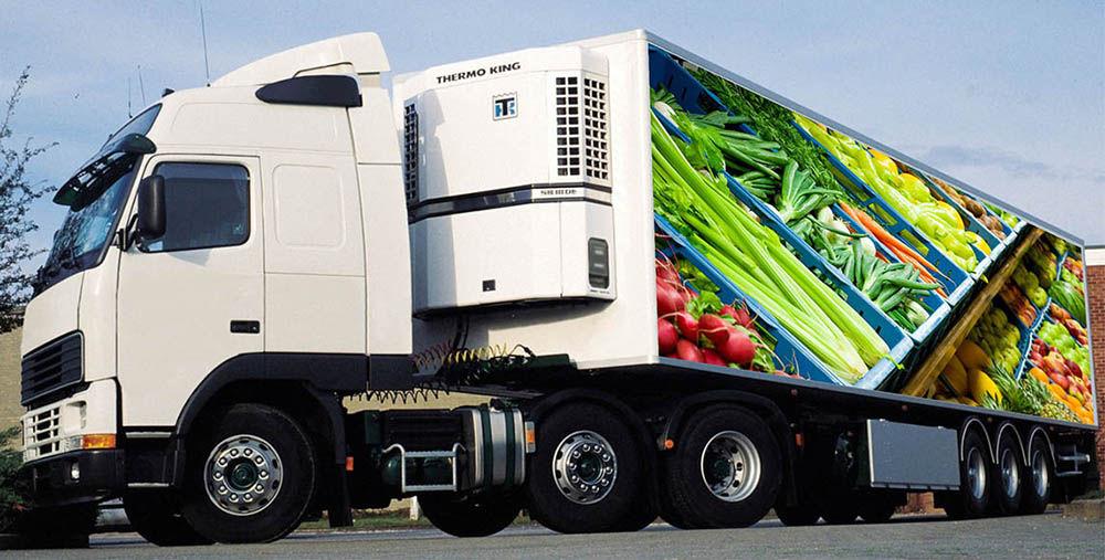 Перевозка продуктов питания