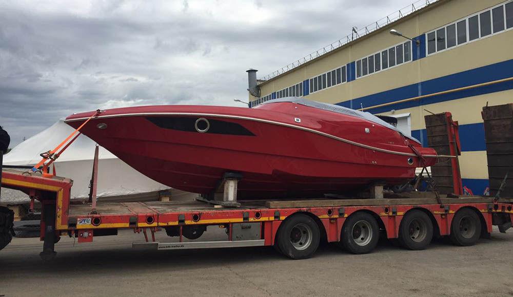 Правила перевозки катеров и яхт на автомобильном транспорте