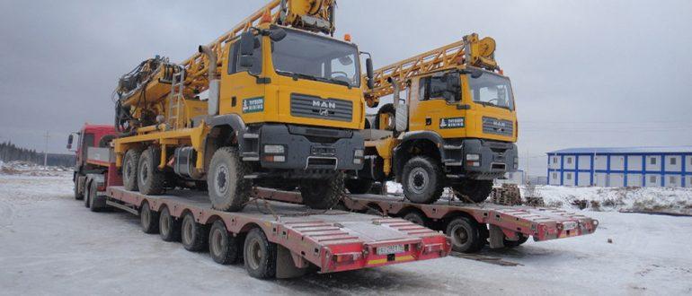 Какие используются прицепы и платформы для перевозки негабаритных грузов