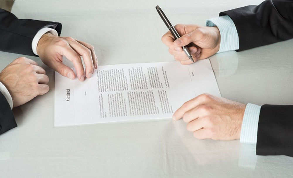 Согласовать пункты договора
