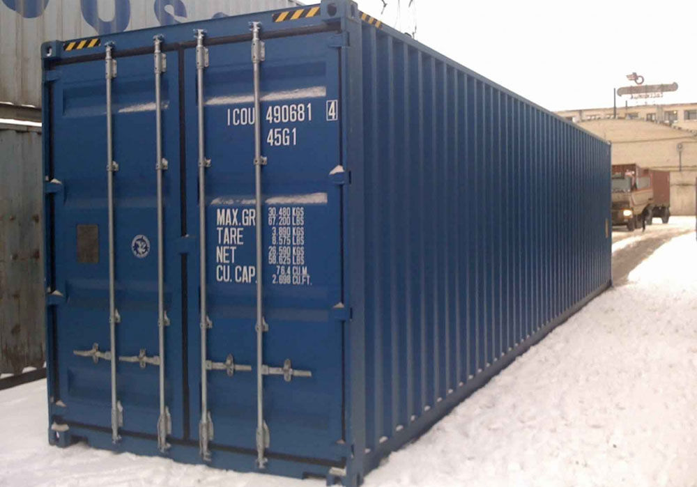 Стандартный контейнер 40 футов