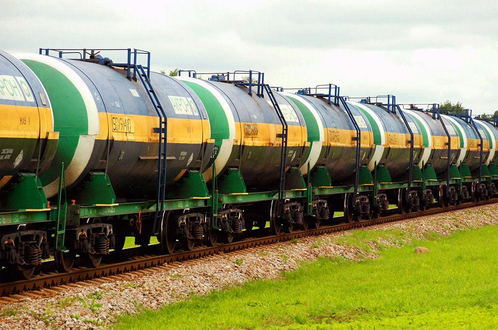 Транспортировка железнодорожным транспортом
