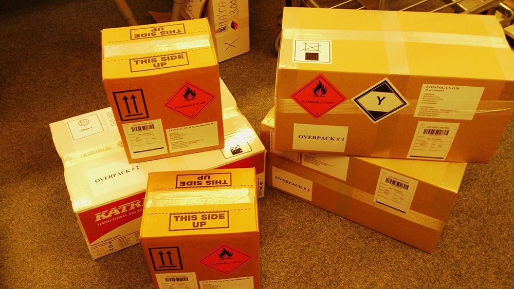 Упаковка опасных грузов
