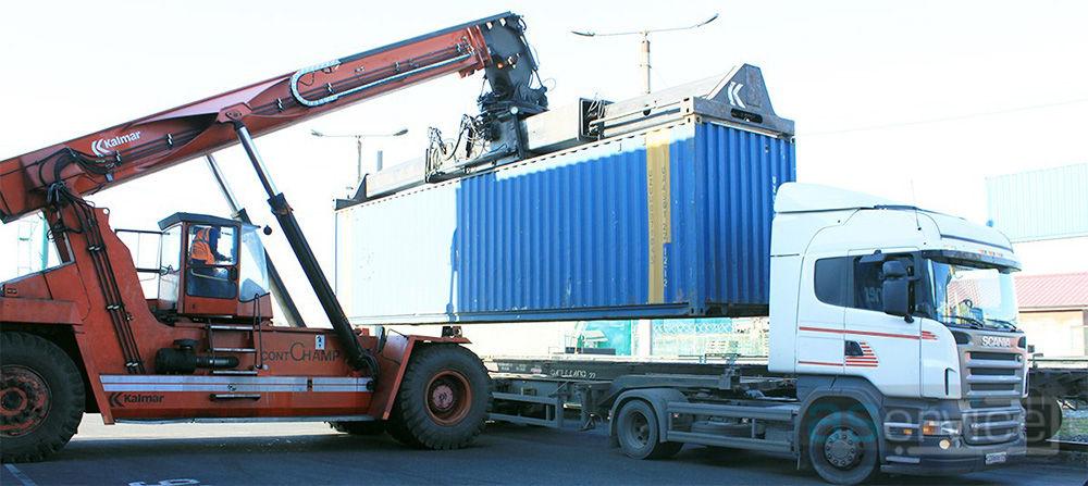 Выбор контейнера для перевозки