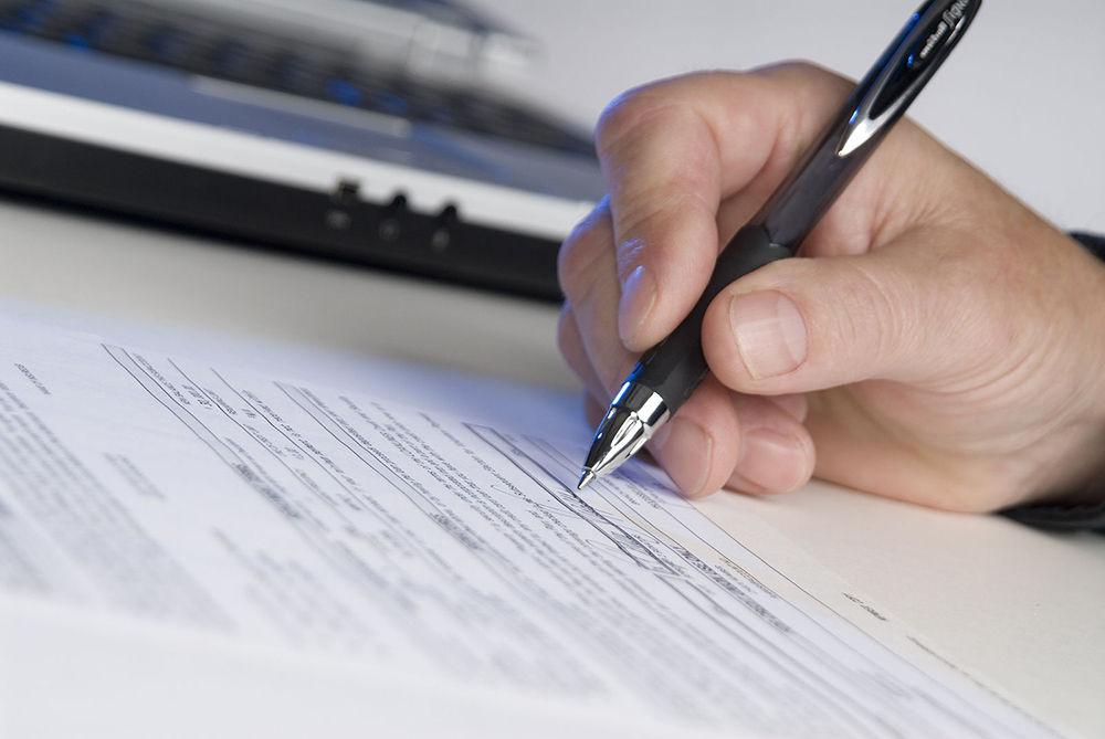 Заполнение таможенной декларации
