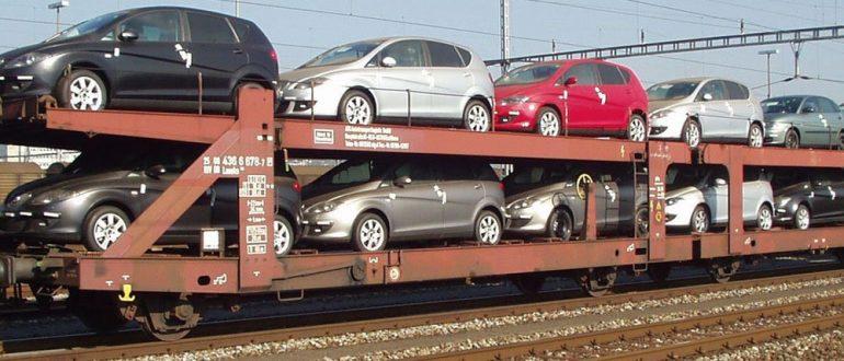 Перевозка автомобилей в вагонах и контейнерах